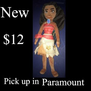 Moana plush for Sale in Paramount, CA