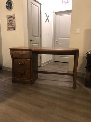 Lexington Oak Desk - Two Drawer for Sale in Nashville, TN
