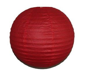 """Wholesale Lot 24 Pack - Party Paper Lantern-Round 12""""-Luau Supplies- Oriental/Chinese Lamps - Red for Sale in Kissimmee, FL"""