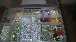 Making jewerly supply beads with storage box for Sale in Richmond, CA