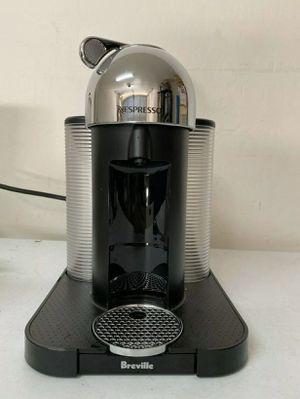 Breville Nespresso Vertuo Coffee Maker & Aeroccino3 - Chrome black - 154 for Sale in Phoenix, AZ