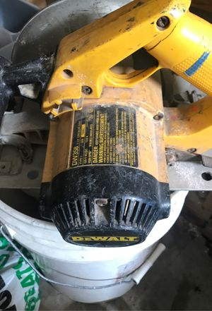 Dewalt corded circular saw for Sale in St. Louis, MO