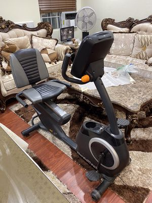 NordicTrack GX 4.7 Indoor Upright Exercise Bike Cycling Gym Bicycle better than treadmill for Sale in San Dimas, CA