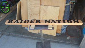 Raider Nation sign for Sale in Stockton, CA