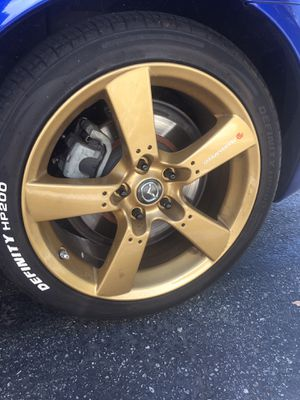 """18"""" mazdaspeed gold rims for Sale in Cypress, CA"""