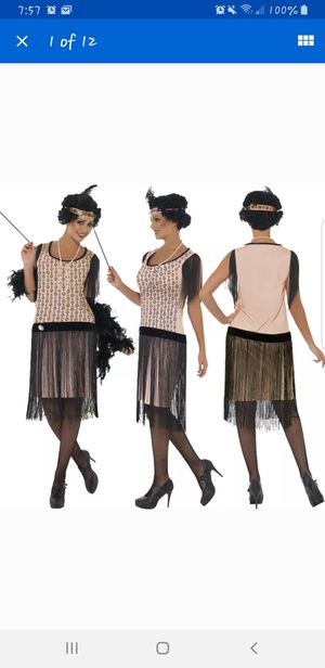 Flapper 1920s Halloween costume Womens S/M for Sale in Portland, OR