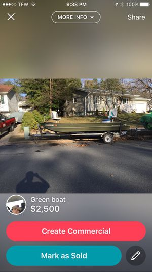 Green bass boat for Sale in Millersville, MD