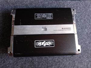 Amp absolute 3000 watts class D for Sale in San Diego, CA