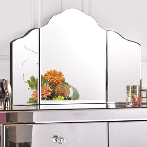 27 x 18 Large Trifold Vanity Makeup Mirror for Sale in Wildomar, CA