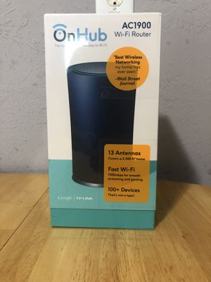 OnHub Wireless Router AC Technology for Sale in Houston, TX