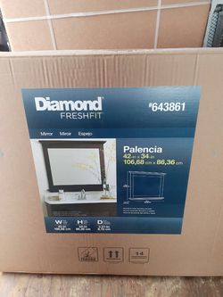 Diamond Fresh Fit Mirror for Sale in Portland,  OR
