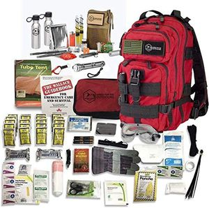 Emergency Survival Kit Backpack – Military Grade Bag 140+ pc for Sale in Beaumont, CA
