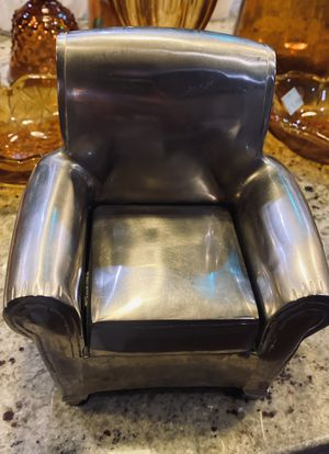 Mid Century Miniature Stainless Steel club chair collectible for Sale in Dallas, TX