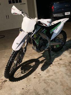 2012 Kawasaki kx250f for Sale in Canton,  GA
