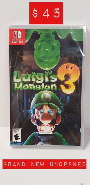 Luigi's Mansion 3 (Brand New/Sealed/Unopened) for Sale in El Monte, CA