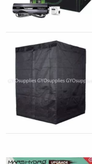 "Hydroponic grow tent 5'x5'x76"" Like brand new polls are marked for easy set up for Sale in Phoenix, AZ"
