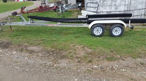 Dual axle aluminum boat trailer for Sale in Cable, OH