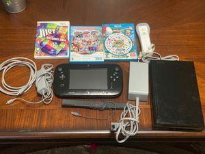 Nintendo WiiU 32 gb con la colección infinity for Sale in Silver Spring, MD