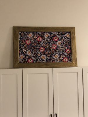 Painted wood frame with canvas for Sale in MIDDLE CITY WEST, PA
