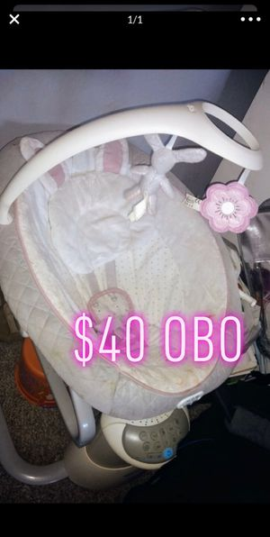 Baby swing for Sale in Victorville, CA