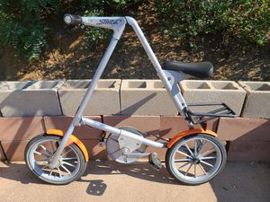 Strida 2 Folding Bike Bicycle Grey Adult Cycling for Sale in Colorado Springs, CO