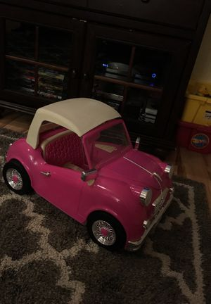 Our generation doll car. Plays real music, doesn't have any damage. In great condition! for Sale in Bonney Lake, WA
