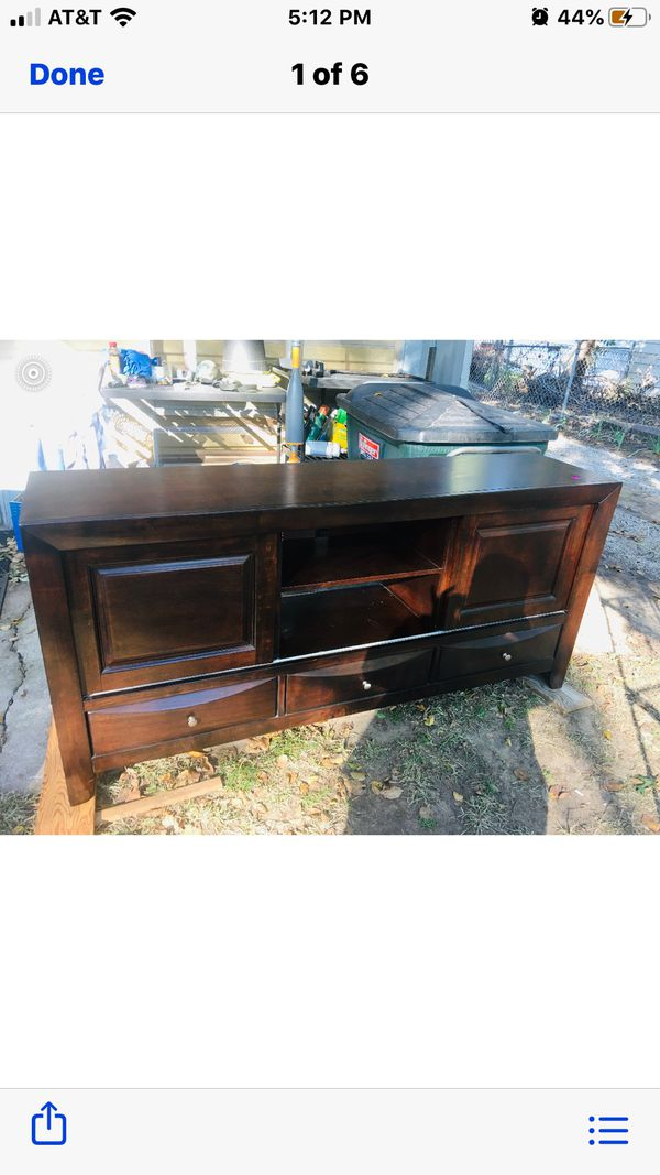 TV stand or stereo cabinet