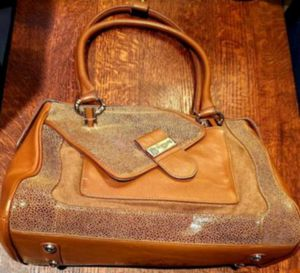 Brand new Nordstrom's brown leather bag for Sale in Chicago, IL