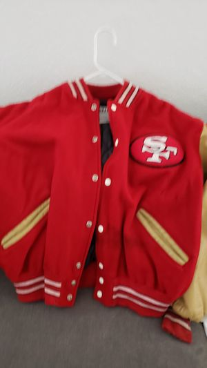 SAN FRANCISCO 49ERS JACKET SIZE 12 KIDS for Sale in San Leandro, CA