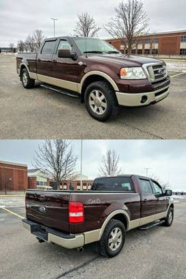 no damage 08 Ford F-150 King Ranch runs and drives excellent for Sale in Princeton, WV