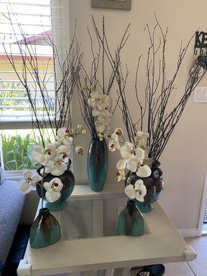 Decorative vase set for Sale in Santa Ana, CA