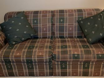 Queen Size Sofa/ Sleeper Bed With New Matress for Sale in Woodridge,  IL
