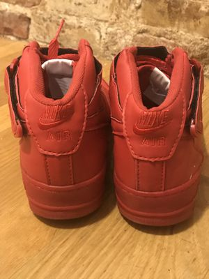 Nike Air Force Mid 1 - Red for Sale in Boston, MA