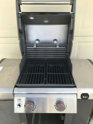 Weber Genesis II E-210 LP Gas Propane Grill bbq barbecue cookout for Sale in Las Vegas, NV