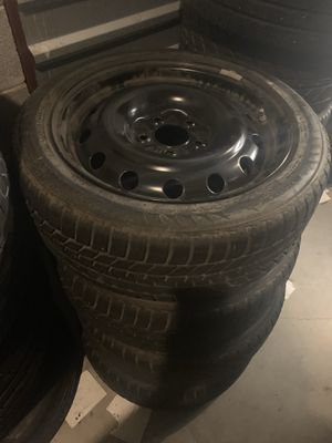 Bmw winter wheels tpms on it rims size 17 for Sale in Manassas, VA