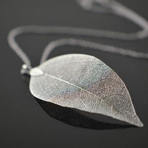 Real leaf necklace for Sale in Austin, TX