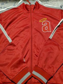 Mlb Anaheim Angels Baseball Men Sweatshirt Full Zipper Size for Sale in Rialto,  CA