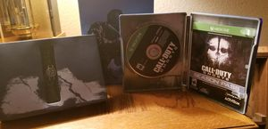 XBOX ONE CALL OF DUTY GHOSTS HARDENED EDITION for Sale in Las Vegas, NV