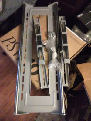 Stainless steel TV Wall mount for large TVs $60 for Sale in Washington, DC