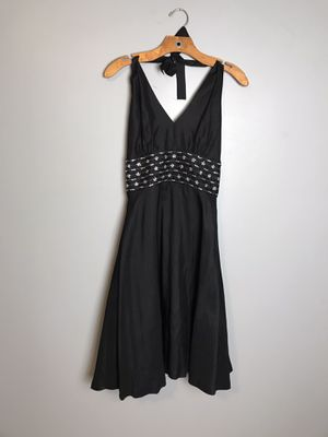 Donna Ricco Black Halter Night Out Dress, Size 4 Pre-owned for Sale in Buckhannon, WV