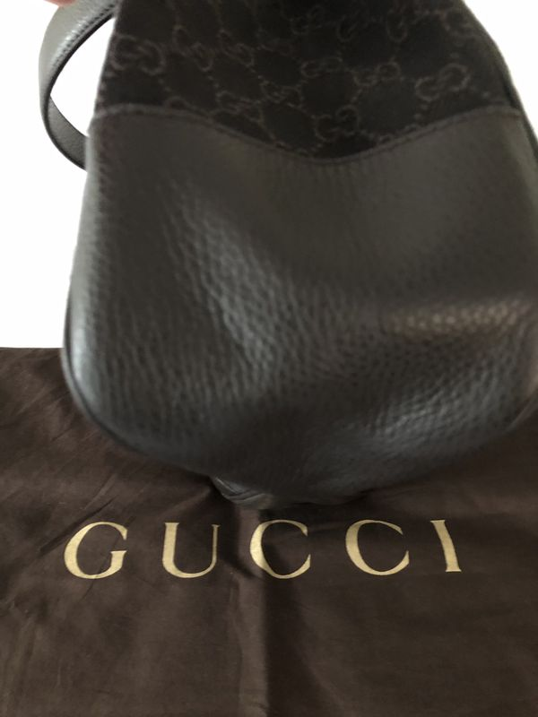Authentic, Guccissima Nylon Hobo Bag