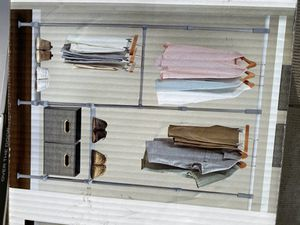 Closet Adjustable System Organizer for Sale in Chicago, IL