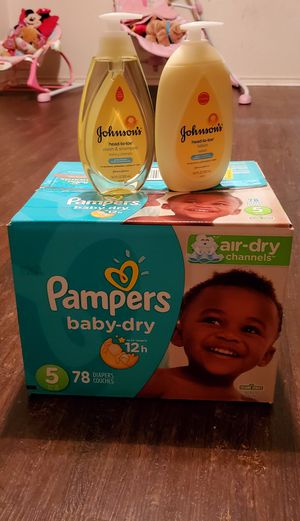 Pampers Bunddle!!! for Sale in Dallas, TX