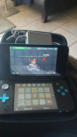 nintendo 2dsxl with mario kart 7 and case for Sale in Long Beach, CA
