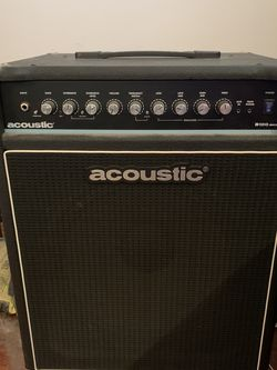 Acoustic 100 Watt Bass Combo Amp for Sale in Clinton,  PA