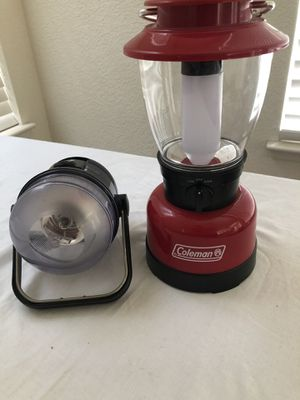Camping Lanterns - Coleman & ozark for Sale in Stockton, CA