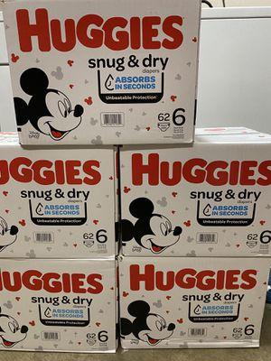 Huggies Snug & Dry Size 6 for Sale in San Jose, CA