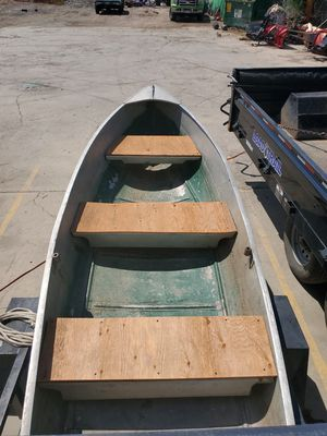 Aluminum boat for Sale in Westminster, CO