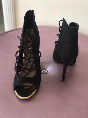 Black Strappy Lilliana Heels for Sale in Washington, DC