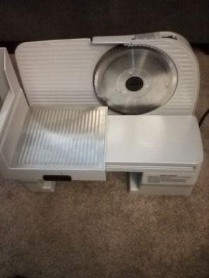Meat slicer never used $80 for Sale in Kansas City, KS